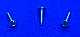 PPW0106C - Philip Pan head w/ washer - #1 x 3/8 - Zinc Plated - 100 pcs/pkg