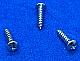 SMPP0105C - #1 x 5/16 - Pan Head Sheet Metal Screws - Phillips 100 pcs/pkg