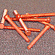 HBBC0012 -  Hex Head Machine Screw - Copper - 0-80 x 3/4 - 100 pcs/pkg