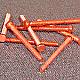 HBBC0112 - Hex Head Machine Screw - Copper - 1-72 x 3/4 - 100 pcs/pkg