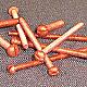 RMBC0016 - Round Head Machine Screw - Copper - 0-80 x 1 100 pcs/pkg
