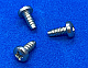 SMPP0304BC - #3 X 1/4 Phillips Pan Head SMS Blunt Zinc Plated Steel - 100 pcs/pkg
