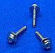 STW0107C - #1 x 7/16 - Servo Mounting - Washer Head Sheet Metal Screws - Socket Head 100 pcs/pkg