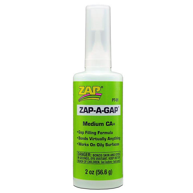 PT-01 - ZAP-A-GAP(tm) CA+ - 2 oz.